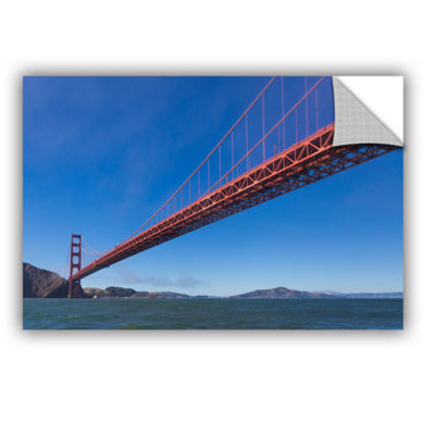 Brushstone Golden Gate From The Bay Removable WallDecal