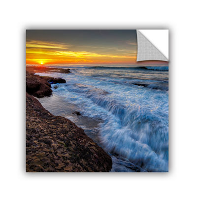 Brushstone La Jolla New Year King Tide 4 RemovableWall Decal