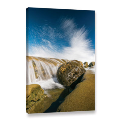 Brushstone Gutter Ball Gallery Wrapped Canvas WallArt