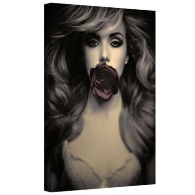 Brushstone Speechless Gallery Wrapped Canvas WallArt