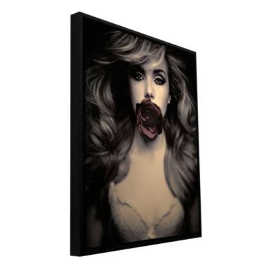 Brushstone Speechless Gallery Wrapped Floater-Framed Canvas Wall Art
