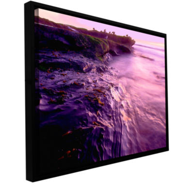 Brushstone La Jolla Impression Gallery Wrapped Floater-Framed Canvas Wall Art