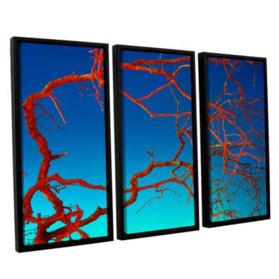 Brushstone Horrors 3-pc. Floater Framed Canvas Wall Art