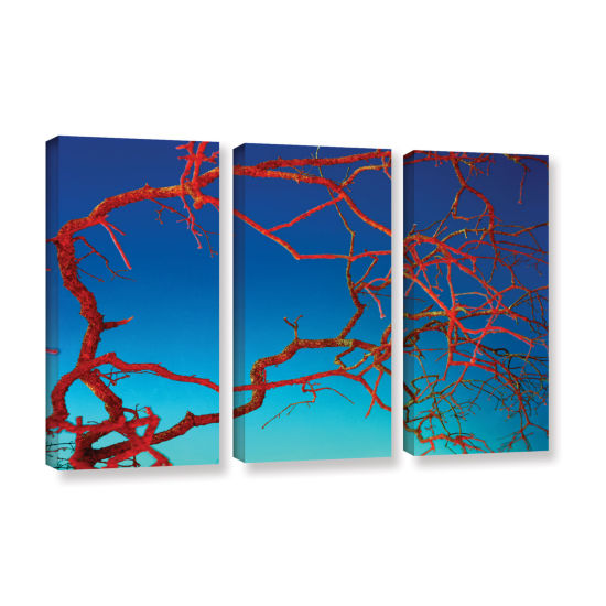 Brushstone Horrors 3-pc. Gallery Wrapped Canvas Wall Art