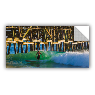 Brushstone Surfer Dude 2 Removable Wall Decal