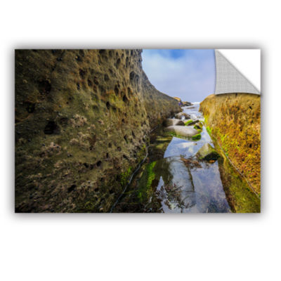 Brushstone Low Tide Trough 1 Removable Wall Decal