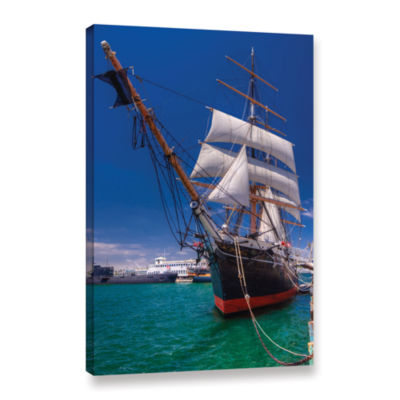Brushstone Tall Beauty Gallery Wrapped Canvas WallArt