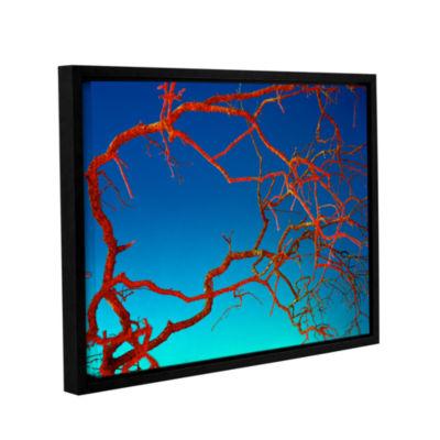 Brushstone Horrors Gallery Wrapped Floater-FramedCanvas Wall Art