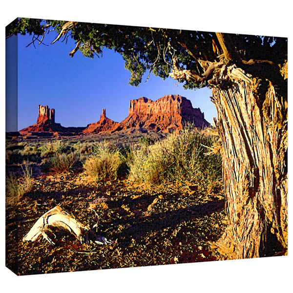 Brushstone Monument Valley Morn Gallery Wrapped Canvas Wall Art