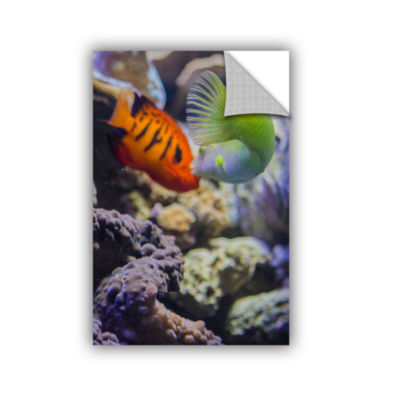Brushstone The Fish Kiss Removable Wall Decal
