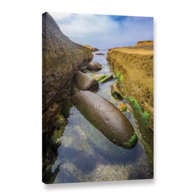 Brushstone Low Tide Trough 2 Gallery Wrapped Canvas Wall Art