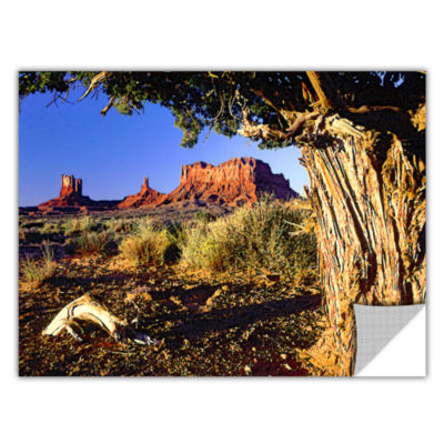 Brushstone Monument Valley Morn Removable Wall Decal