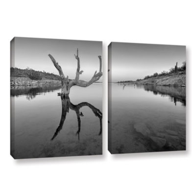 Brushstone The Kings Hand 1 Bw 2-pc. Gallery Wrapped Canvas Wall Art