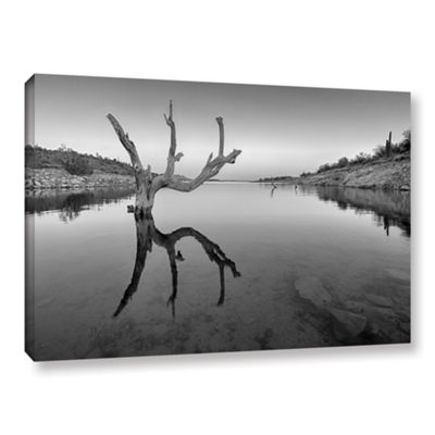 Brushstone The Kings Hand 1 Bw Gallery Wrapped Canvas Wall Art