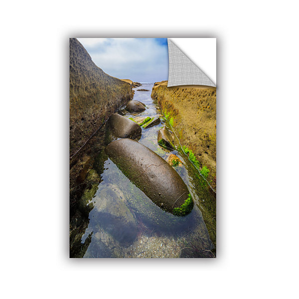 Brushstone Low Tide Trough 2 Removable Wall Decal