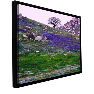 Brushstone Sierra Foothills Spring Gallery WrappedFloater-Framed Canvas Wall Art