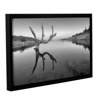 Brushstone The Kings Hand 1 Bw Gallery Wrapped Floater-Framed Canvas Wall Art