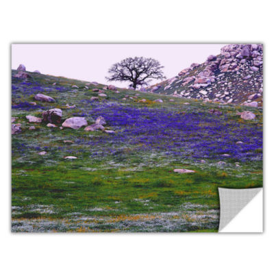 Brushstone Sierra Foothills Spring Removable WallDecal