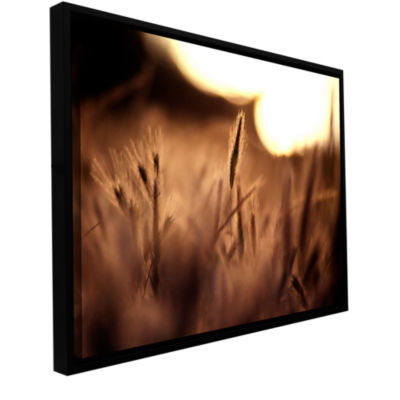 Brushstone Summer Field Gallery Wrapped Floater-Framed Canvas Wall Art
