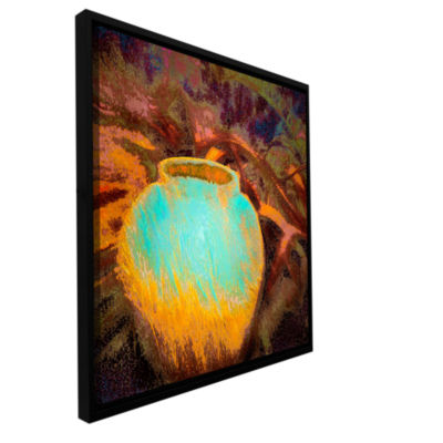 Brushstone Vessel Of Honor Gallery Wrapped Floater-Framed Canvas Wall Art