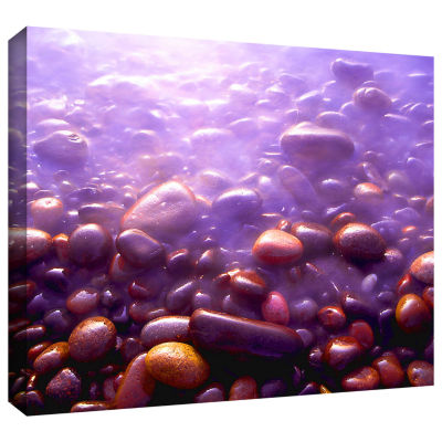 Brushstone Tide And Twilight Gallery Wrapped Canvas Wall Art