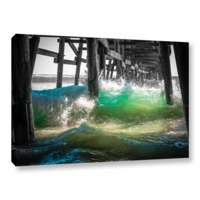 Brushstone There Is Hope Under The Pier Gallery Wrapped Canvas Wall Art