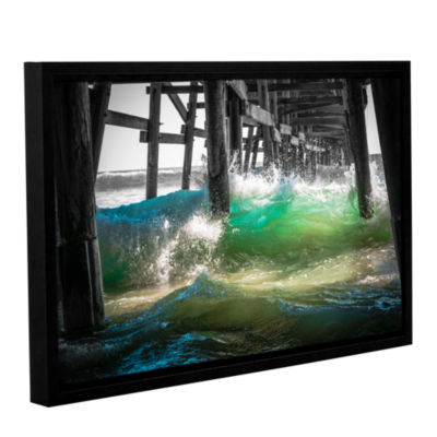 Brushstone There Is Hope Under The Pier Gallery Wrapped Floater-Framed Canvas Wall Art