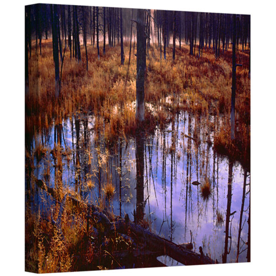 Brushstone Yellowstone Morning Gallery Wrapped Canvas Wall Art