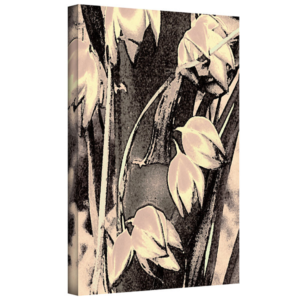 Brushstone Yucca Flor Gallery Wrapped Canvas WallArt