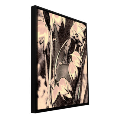 Brushstone Yucca Flor Gallery Wrapped Floater-Framed Canvas Wall Art