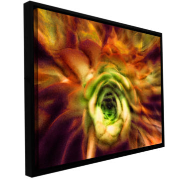 Brushstone Manana Suculentos Gallery Wrapped Floater-Framed Canvas Wall Art