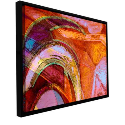 Brushstone Ne The Gallery Wrapped Floater-Framed Canvas Wall Art