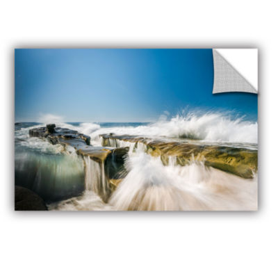 Brushstone La Jolla New Year King Tide 1 2-pc. Gallery Wrapped Canvas Wall Art