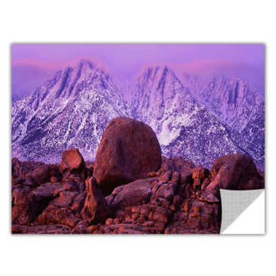 Brushstone Sierra Sun Rise Removable Wall Decal