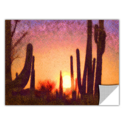 Brushstone Sonoran Summer Removable Wall Decal