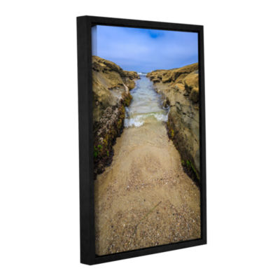 Brushstone Make Way 2 Gallery Wrapped Floater-Framed Canvas Wall Art