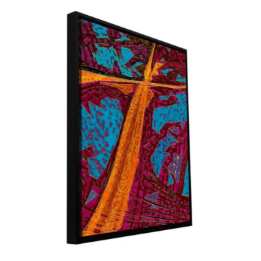Brushstone South 4 The Winter Sur Para El InviernoGallery Wrapped Floater-Framed Canvas Wall Art
