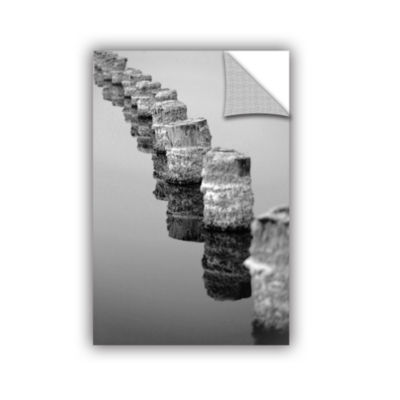 Brushstone March I Say Black And White Removable Wall Decal