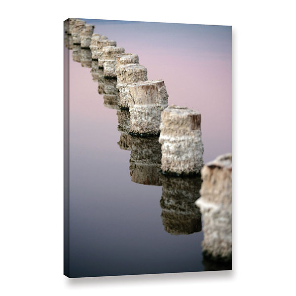 Brushstone March I Say Gallery Wrapped Canvas WallArt