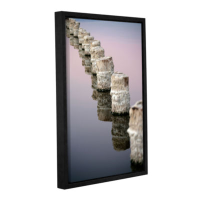 Brushstone March I Say Gallery Wrapped Floater-Framed Canvas Wall Art