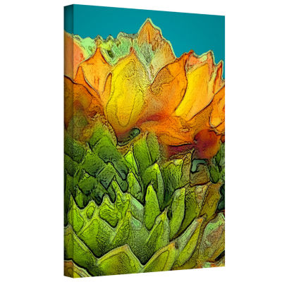 Brushstone Sur Suculenta Gallery Wrapped Canvas Wall Art