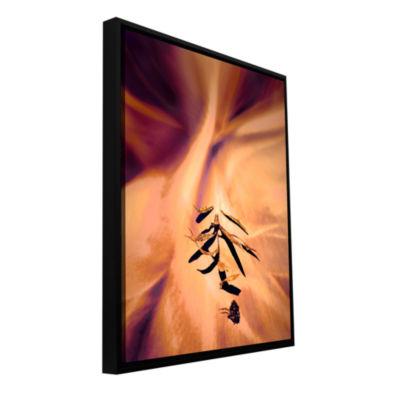 Brushstone Terte Gallery Wrapped Floater-Framed Canvas Wall Art