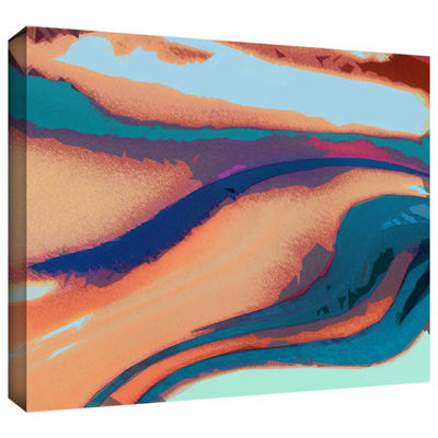 Brushstone Tierra Y Agua Gallery Wrapped Canvas Wall Art