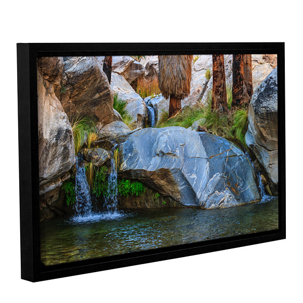 Brushstone Murray Canon Tranquility II_1 Gallery Wrapped Floater-Framed Canvas Wall Art