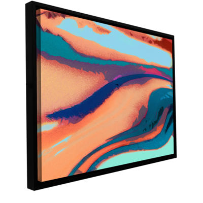 Brushstone Tierra Y Agua Gallery Wrapped Floater-Framed Canvas Wall Art
