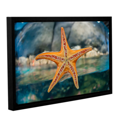 Brushstone Out Of My Depth Gallery Wrapped Floater-Framed Canvas Wall Art