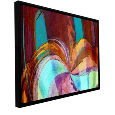 Brushstone Yata Gallery Wrapped Floater-Framed Canvas Wall Art