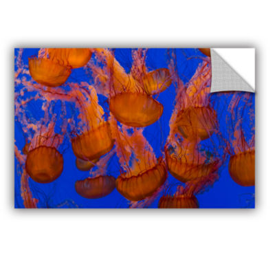 Brushstone Pacific Sea Nettle Cluster 1 RemovableWall Decal