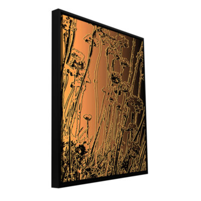 Brushstone In The Garden Gallery Wrapped Floater-Framed Canvas Wall Art
