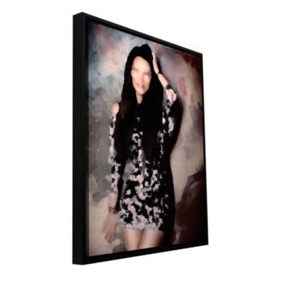 Brushstone Loves Fading Memory Gallery Wrapped Floater-Framed Canvas Wall Art